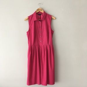 Tommy Hilfiger Retro Style Pink Dot Dress